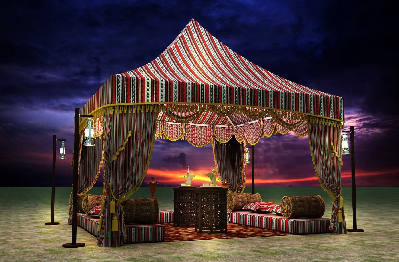 Tents and Awning | خيام و مظلات